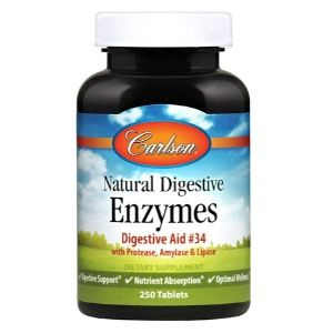 Carlson Natural Digestive Enzymes-1