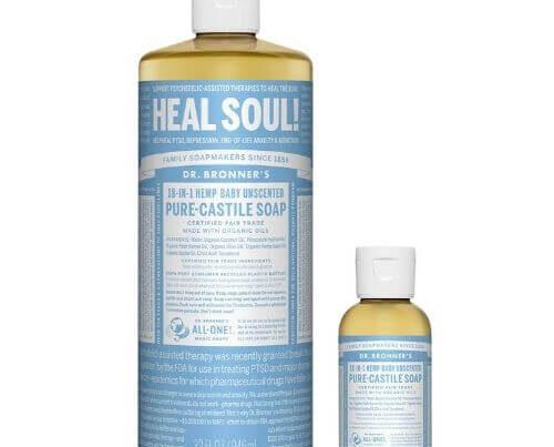 Dr. Bronner's - Pure-Castile Liquid Soap Review